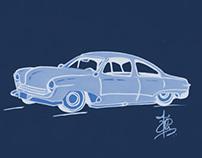 Car's blueprint