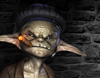Ragdoll Studio LLC - Fishhook the Goblin