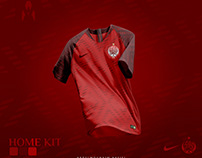 Wydad Athletic Club - Football kit