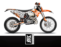 Dango Design KTM Graphic Kit