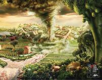 Tornado - vegetable