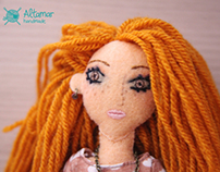 Avellana. Handmade Doll