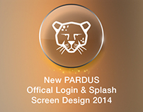 New PARDUS Offical Login & Splash Screen Design 2014