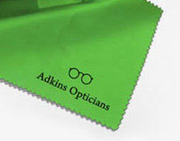 Adkins Opticians Brand Identity Design