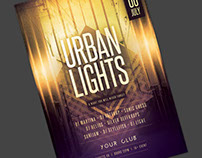 Urban Lights Flyer