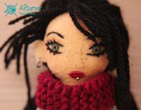 Mora. Handmade doll