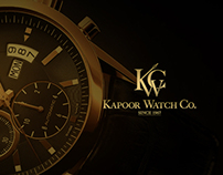 Luxury Watches - Web UI Design