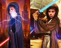 Kid Sith / Jedi