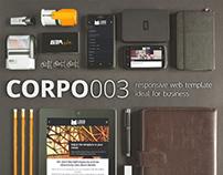 CORPO003 responsive web template
