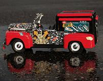 Vans vinyl car wrap