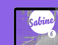 Sabine—Editorial Design & Branding