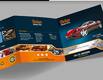 Tri-fold Rectangle Brochure