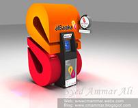3D ATM Kiosk