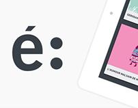 étapes: iPad application