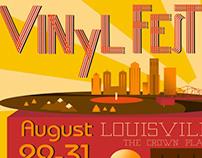 Vinyl Fest Poster