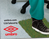 Print Advertising for UMBRO - D&AD