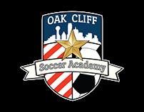 Oak Cliff Soccer Academy Logo Design