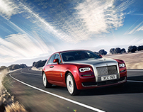 Rolls Royce Ghost Series II - Retouching & Animation