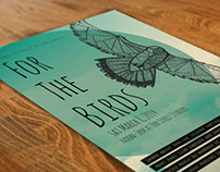 FOR THE BIRDS poster design