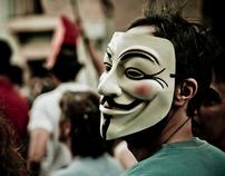 Spanish revolution. 19J