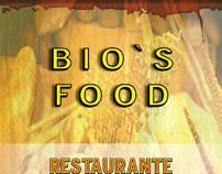 Bio's Food Restaurante - cardápio e prospecção
