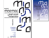 Visual identity MNAMAC - Rabat (Morocco)