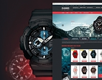 Интернет-магазин часов Casio