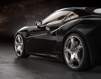 Ferrari California renders