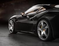 Ferrari California renders