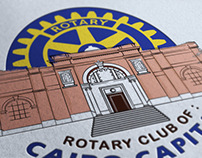 Rotary Club of Cairo Capital Logo