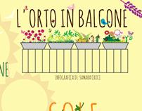 L'orto in balcone