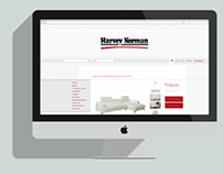 Harvey Norman Responsive Website Redesign | banners
