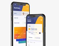 Finan$i - iOS Finansial UI Kit