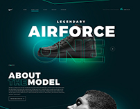Airforce One / Nike Inc. Web