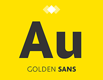 Golden Sans (Free) Font