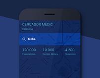 CERCADOR MÈDIC App