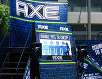 Axe Body Spray's Sponsorship Area at the X-Games
