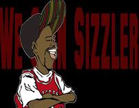 We Goin Sizzler .. ! Illustration, Caricature, Humour