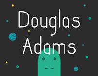Portrait of Douglas Adams