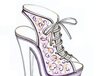 Shoe Design - sketches