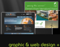 HTML5 web site, flash animation, graphic design