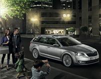 Škoda Octavia Combi advertising campaign