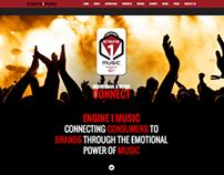 Engine1 Music Website