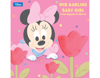 Disney Baby-Girl Book