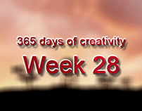 365 days of creativity/art - Week 28