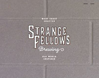 Strange Fellows Brewing - Landing Page