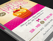 Muffins for Moms Event Flyer Template