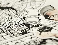 Ilustração Anúncio Estúdio Duka