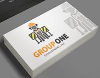 GroupOne logo concept