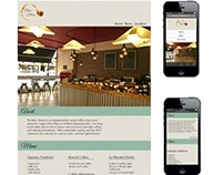 Brew House Coffee Shop Responsive Webpage
